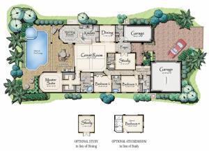 Lantana Olde Cypress - Jasmine II Floor Plan