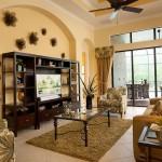 Lantana Olde Cypress - Tivoli III Floor Plan Living Area