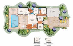 Lantana Olde Cypress Montana II Home Floor Plan