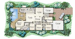Lantana Olde Cypress - Orchid II Floor Plan
