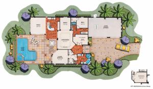 Lantana Olde Cypress - Ravenna II Floor Plan