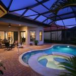 Lantana Olde Cypress - Ruffino II Floor Plan Pool