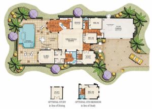 Lantana Olde Cypress - Ruffino II Floor Plan