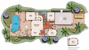 Lantana Olde Cypress - San Remo III Floor Plan