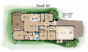 Lantana Olde Cypress - Tivoli III Floor Plan