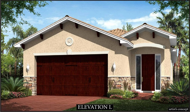 Cedarwood Elevation L