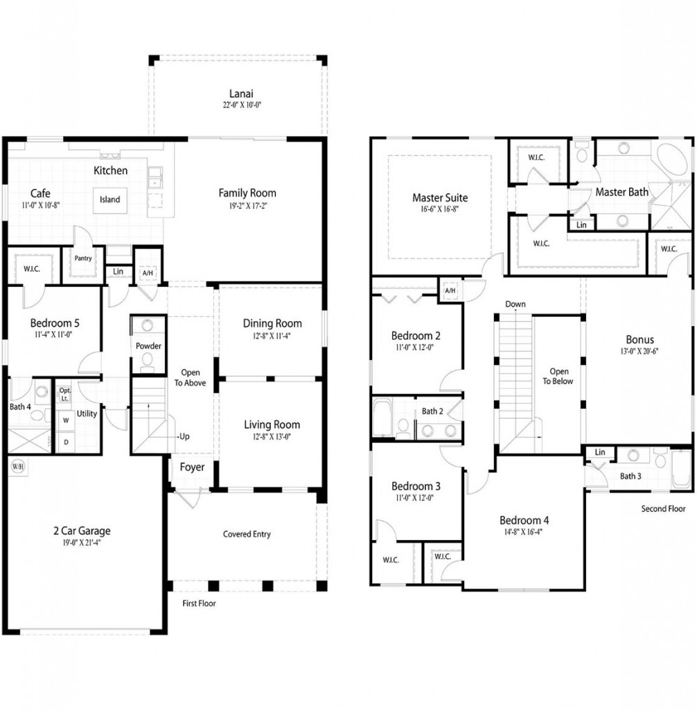Newport-Floor-Plan-2-Car-Garage-Layout-1006x1024