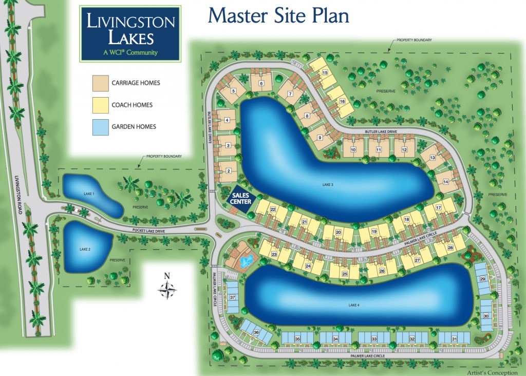 Livingston Lakes Homes