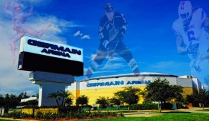 Germain Arena is close to Longitude in Bonita Springs, Florida