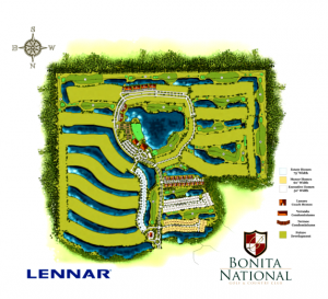 Bonita National Golf & Country Club Site Plan