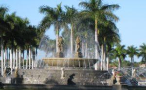 Miromar Lakes fountain