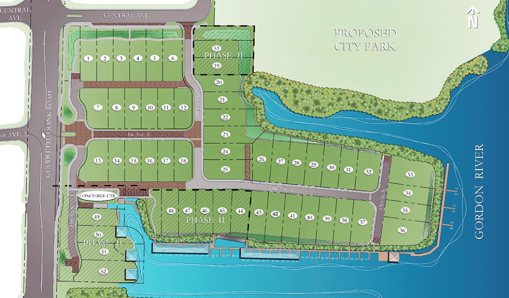 mangrove bay naples site plan
