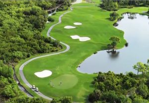 The Marsh Course is among the five different golf courses