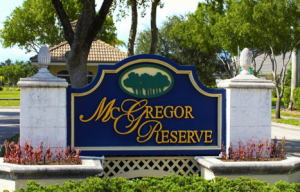 Homes for sale in McGregor Reserve Fort Myers Florida Real Estate