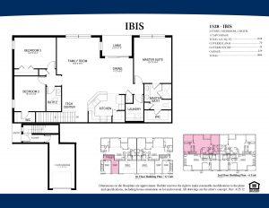IbisSecond Floor3 Bedroom/2 Bathrooms1 Car Garage1,528 A/C Square Feet