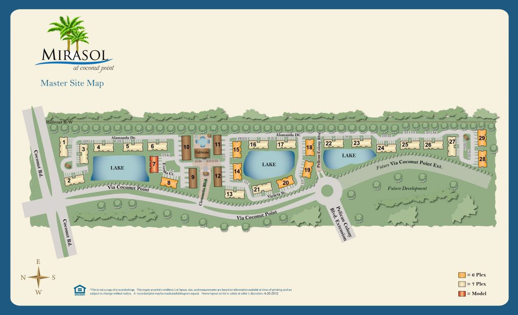 Mirasol-at-Coconut-Point-Site-Map