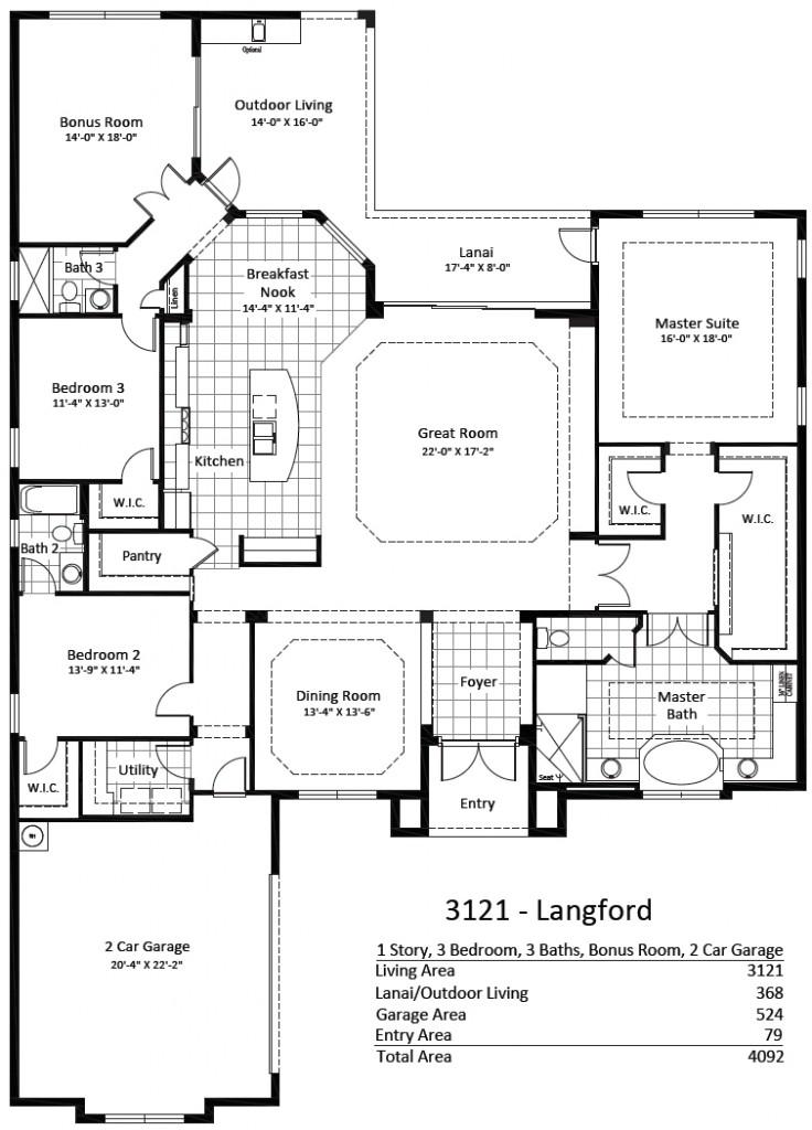 Langford, Mockingbird Crossing Naples Home Designs
