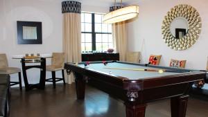 gameroom in mockingbird crossing Naples homes