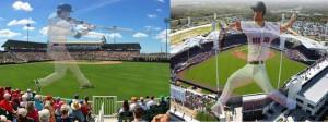 Hammond Stadium and JetBlue Stadium, short drive from Mockingbird Crossing Naples Community