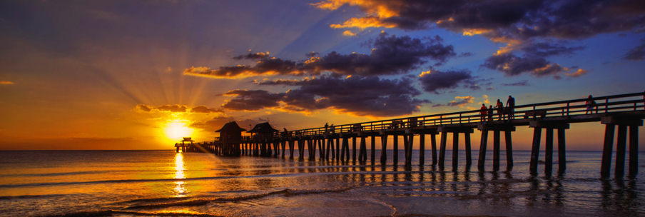 Iconic pier, short drive from Mockingbird Crossing Naples Community