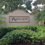 Andalucia-entry-sign-NaplesFloridaPreconstruction