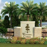 Winding-Cypress-front-entrance1-Naples-FL-Preconstruction