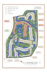 Copperleaf Site Map