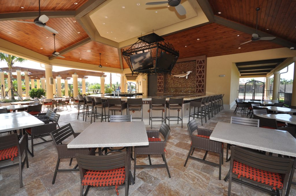 Bonita National - Poolside Dining - Steve Schoepfer, Realtor