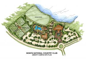 Bonita National - Amenities Site Plan - Steve Schoepfer, Realtor