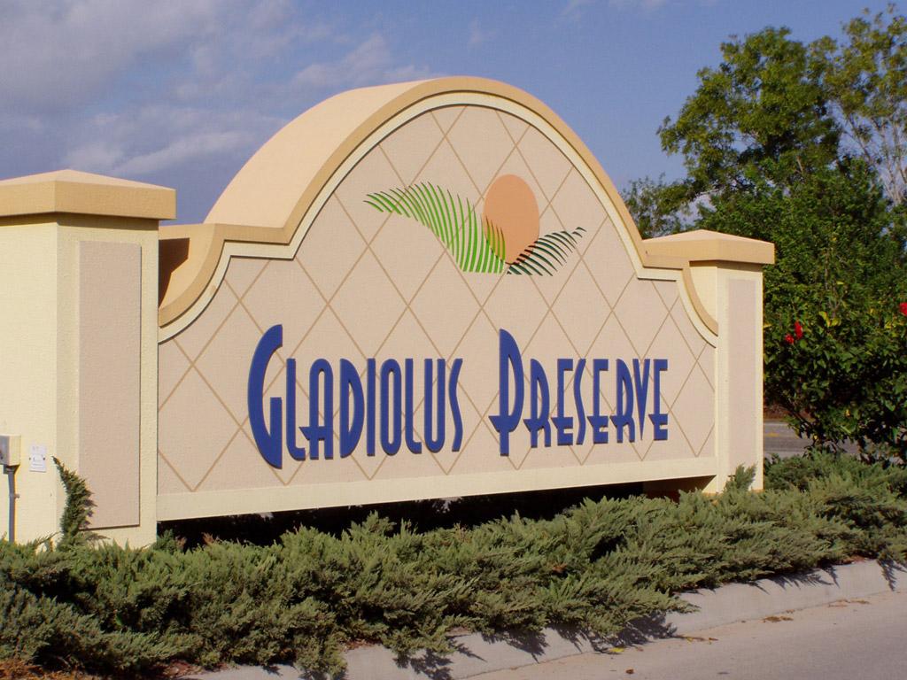 Gladiolus Preserve
