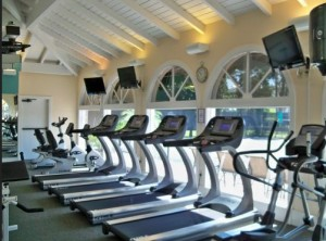 fitness center for residents of Wiggins Bay Princeton Place