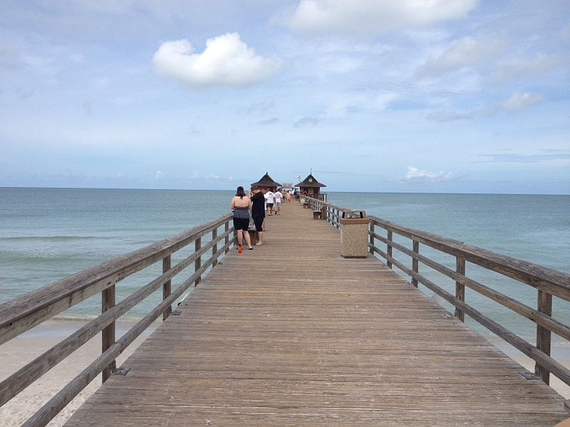 The Naples Pier in Olde Naples