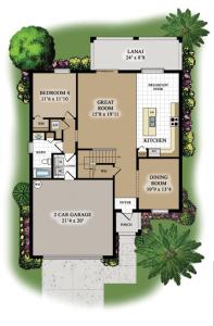 Amalfi-First-Floor-Plan