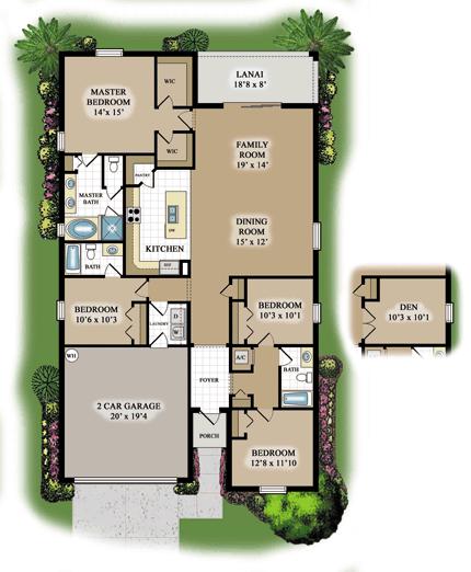 Trevi-Floor-Plan-Model-Home-Orange-Blossom-Ranch-Naples