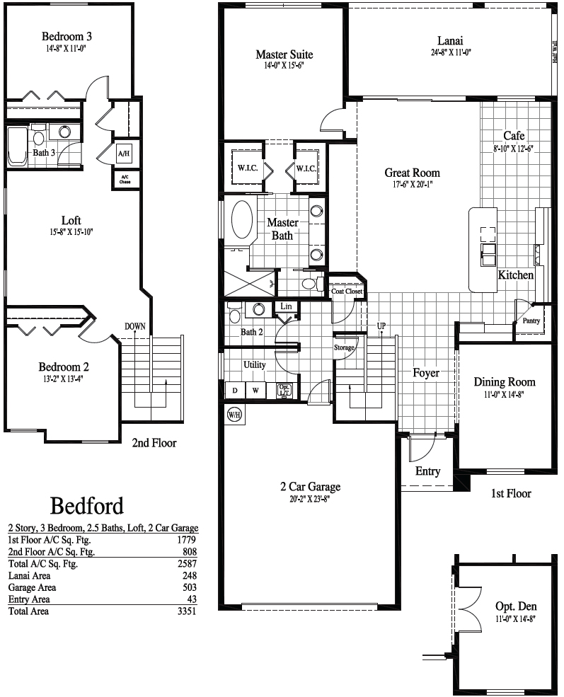 Bedford Floor Plan