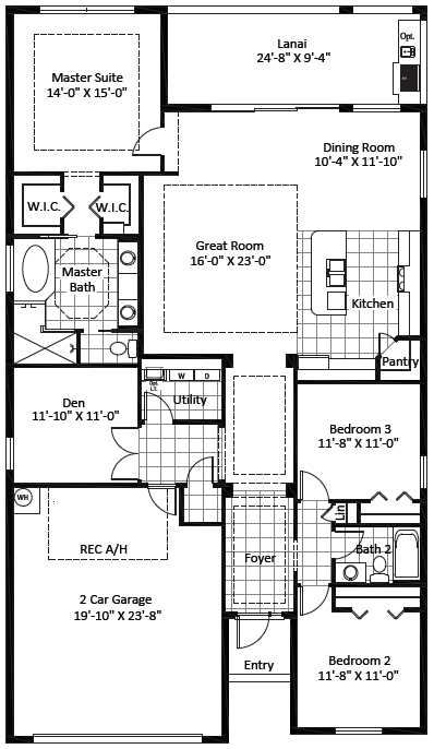 Edison Floor Plan