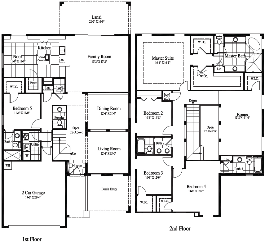 Newport Floor Plan