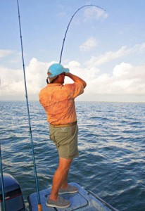 Paloma is minutes from fishing on the Gulf