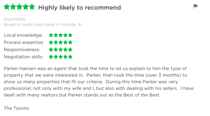 Zillow-Review-3-Parker-Hansen-Realtor