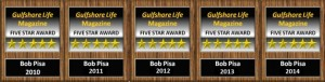 Bob Pisa Gulfshore Life Five Star Awards