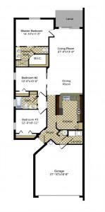 Magnoila Villa Floor Plan