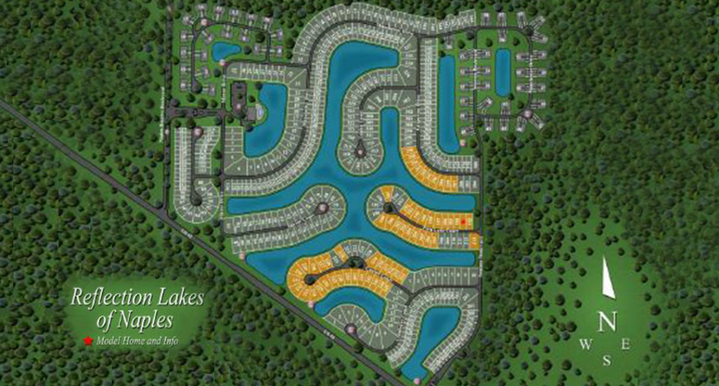 Please Click Image for a Detailed View of the Reflection Lakes Community
