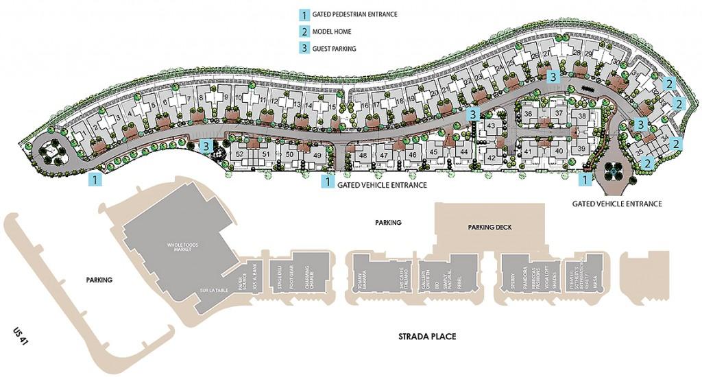 Mercato Naples Site Plan
