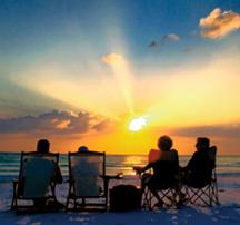 san carlos park sunset