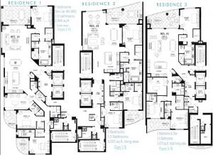 Seaglass Floor Plans