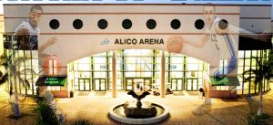 Alico Arena is short drive from Sun Village Estates