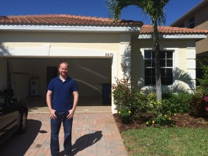 First-time home buyer in Monterey subdivision.