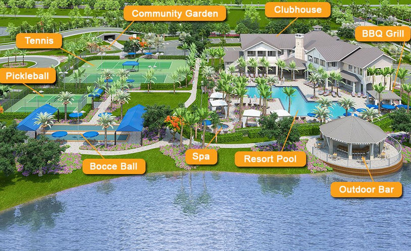 Tidewater Estero Amenities