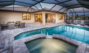 Tidewater Estero pool and spa package
