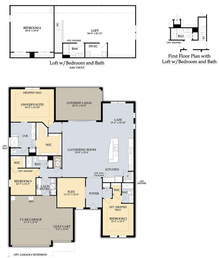 Pinnacle Floor Plan